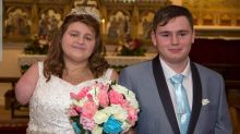 Terminal cancer bride has 'beautiful' wedding day after getting arm amputated to extend her life
