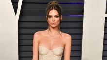 Emily Ratajkowski poses naked in protest of US abortion laws