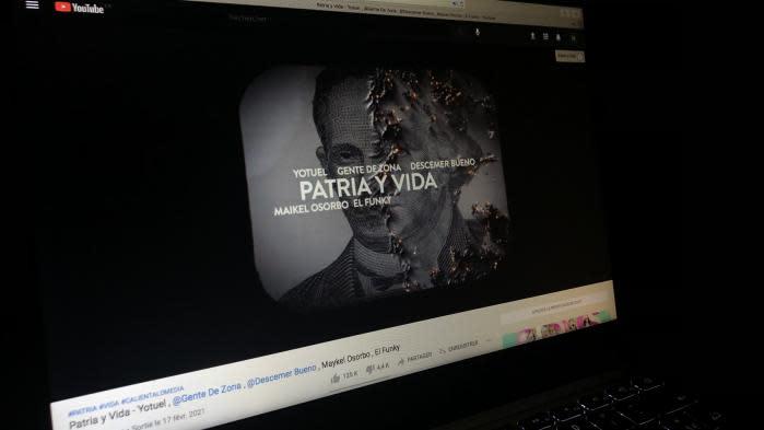 """""""Patria y vida"""", la chanson contestataire devenue virale qui hérisse le gouvernement cubain"""