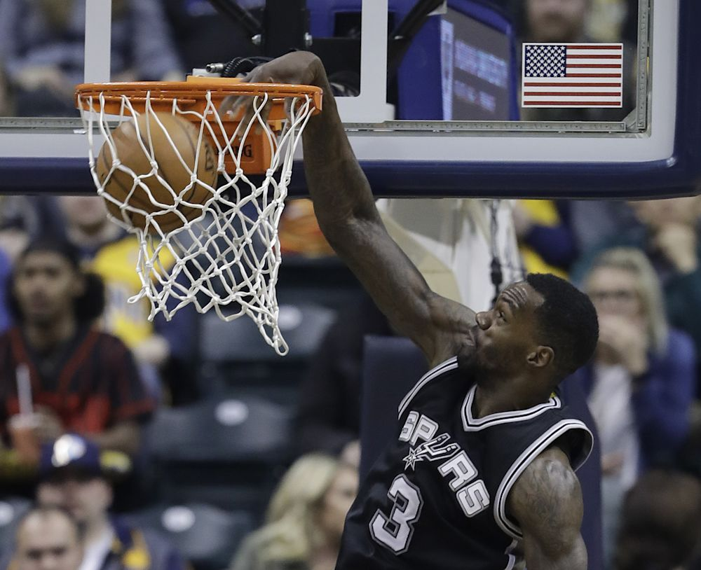 Dewayne Dedmon has played four NBA seasons. (AP)