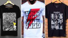 Comemore o Dia Mundial do Rock com essas camisetas