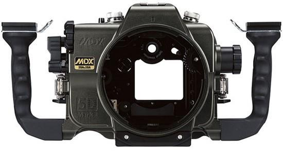 Waterproof 5D Mark II housing allows for 1080p under the sea
