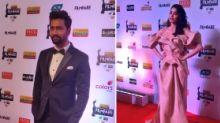 Janhvi Kapoor, Vicky Kaushal Dazzle at the Filmfare Red Carpet