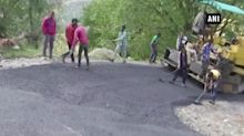 New roads being built under PMGSY in Rajouri district