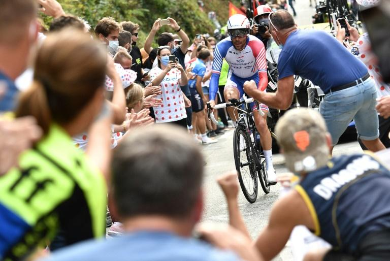 France's Thibaut Pinot proved to be a flop again