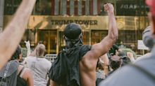 The Story Behind the Photograph of Protesters Outside of Trump Tower That Resonated Around The World