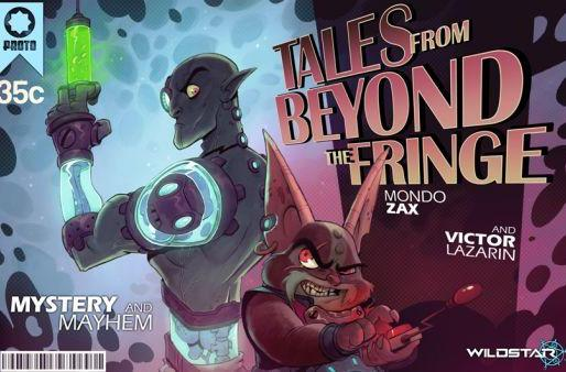 WildStar kicks off webcomic series Tales from Beyond the Fringe