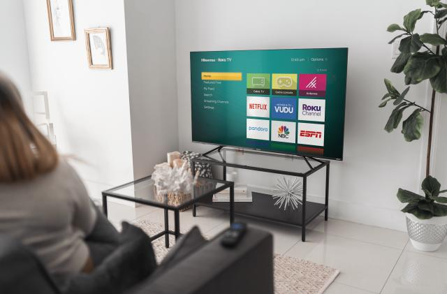 Hisense's new ULED 4K TVs will come with Roku built in