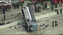 3 killed in Indianapolis bus crash