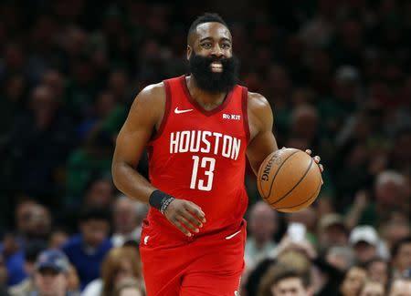 923b8e5eb30a NBA roundup  Harden drops 42 as Rockets dump Celtics