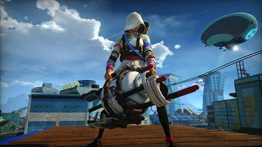 Join the 'Chaos Squad' in Sunset Overdrive's multiplayer trailer