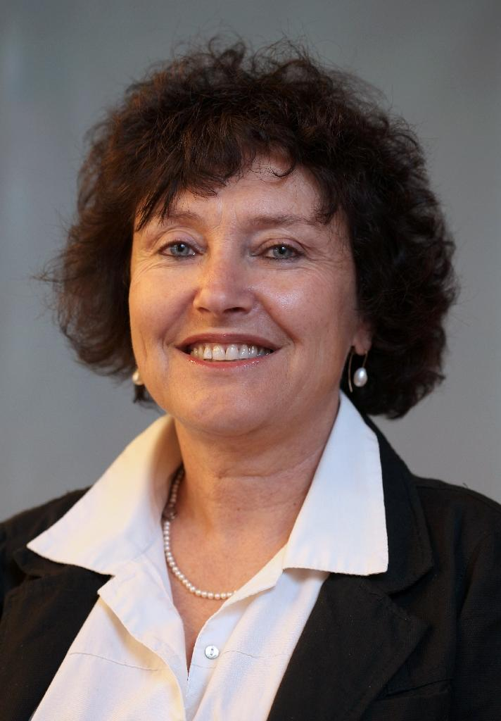 An undated picture released by the Bank of Israel on October 20, 2013, shows newly appointed Bank of Israel governor Karnit Flug posing for a photograph in Jerusalem
