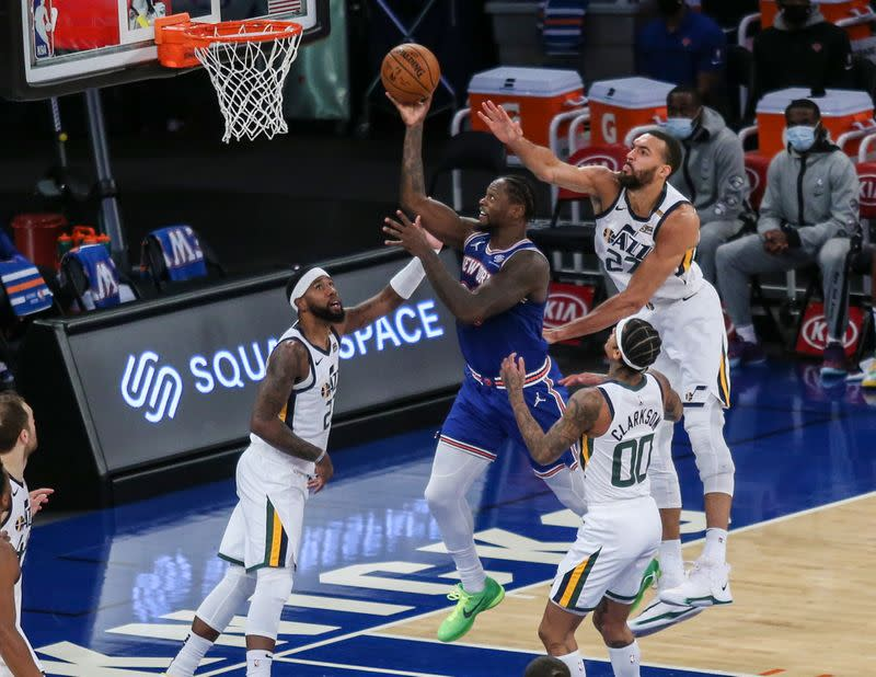 Austin Rivers Powers Knicks Past Jazz