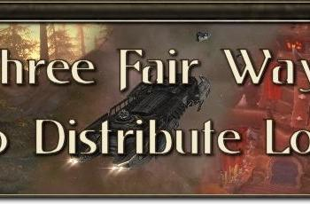 MMO Mechanics: Three fair ways to distribute loot