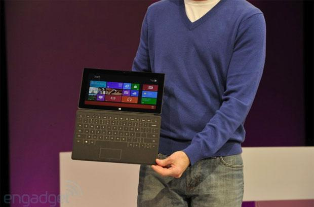 Microsoft one ups other tablet 'smart' covers with Surface's Touch Cover and Type Cover
