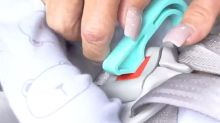 This car seat key makes it easier to quickly release your child