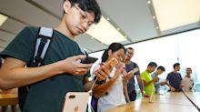 Apple, Nvidia shares fall after a key Asian chip partner gives weak guidance