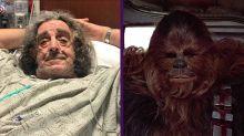 Peter Mayhew, el actor que pasó de ser asistente en un hospital a un icono del cine