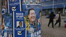 Evo Morales declara ganador a su candidato en Bolivia