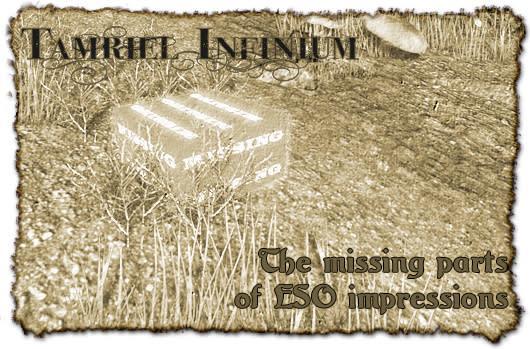 Tamriel Infinium: The missing parts of Elder Scrolls Online impressions