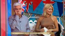 Phillip Schofield spots hilarious design flaw on Prince Harry swimsuit