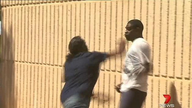 Fight outside Jurrah's assault trial