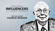 Charlie Munger joins Influencers with Andy Serwer
