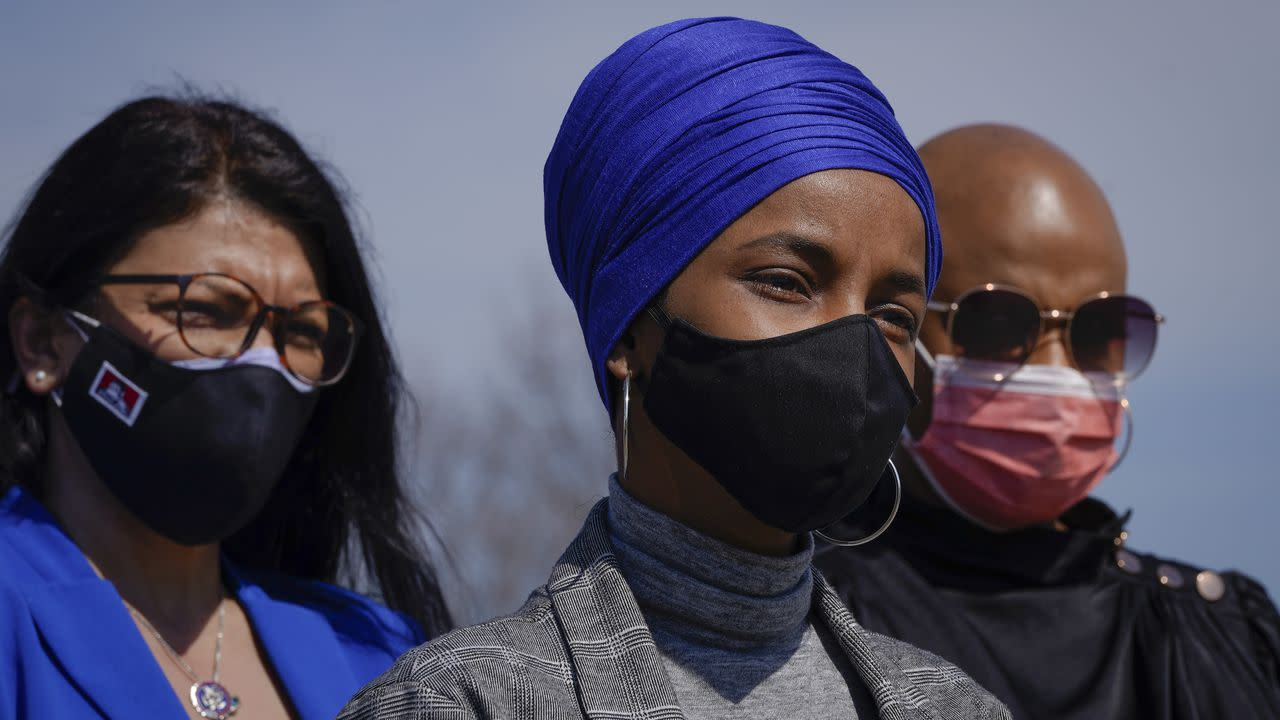 """Utterly unacceptable"": Ilhan Omar, AOC, other Democrats slam Biden's decision on refugee cap"