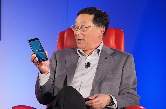 BlackBerry could quit hardware as early as next year