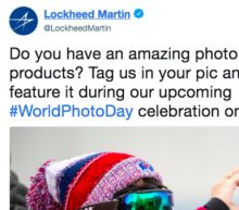 Lockheed Martin's #WorldPhotoDay Tweet Backfires