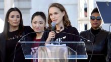 Natalie Portman addresses her experience of 'sexual terrorism' at age of 13 at Women's March
