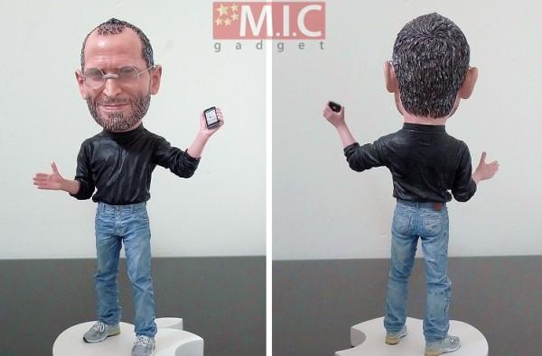 Steve Jobs shrinks down to action figure size, ego remains untouched