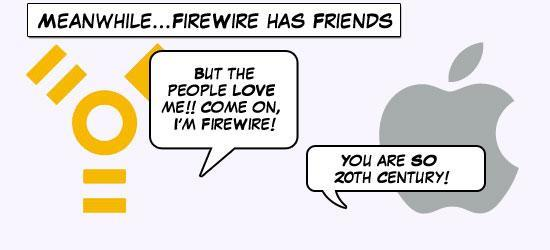 FireWire feedback from readers and Apple