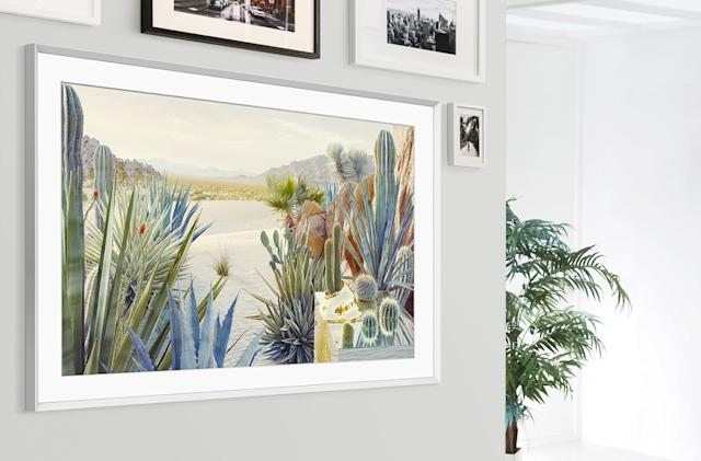Samsung's new Frame TV rotates between portrait and landscape modes