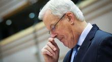 UK 'notes with interest' Barnier's comments on EU exit talks - spokesman