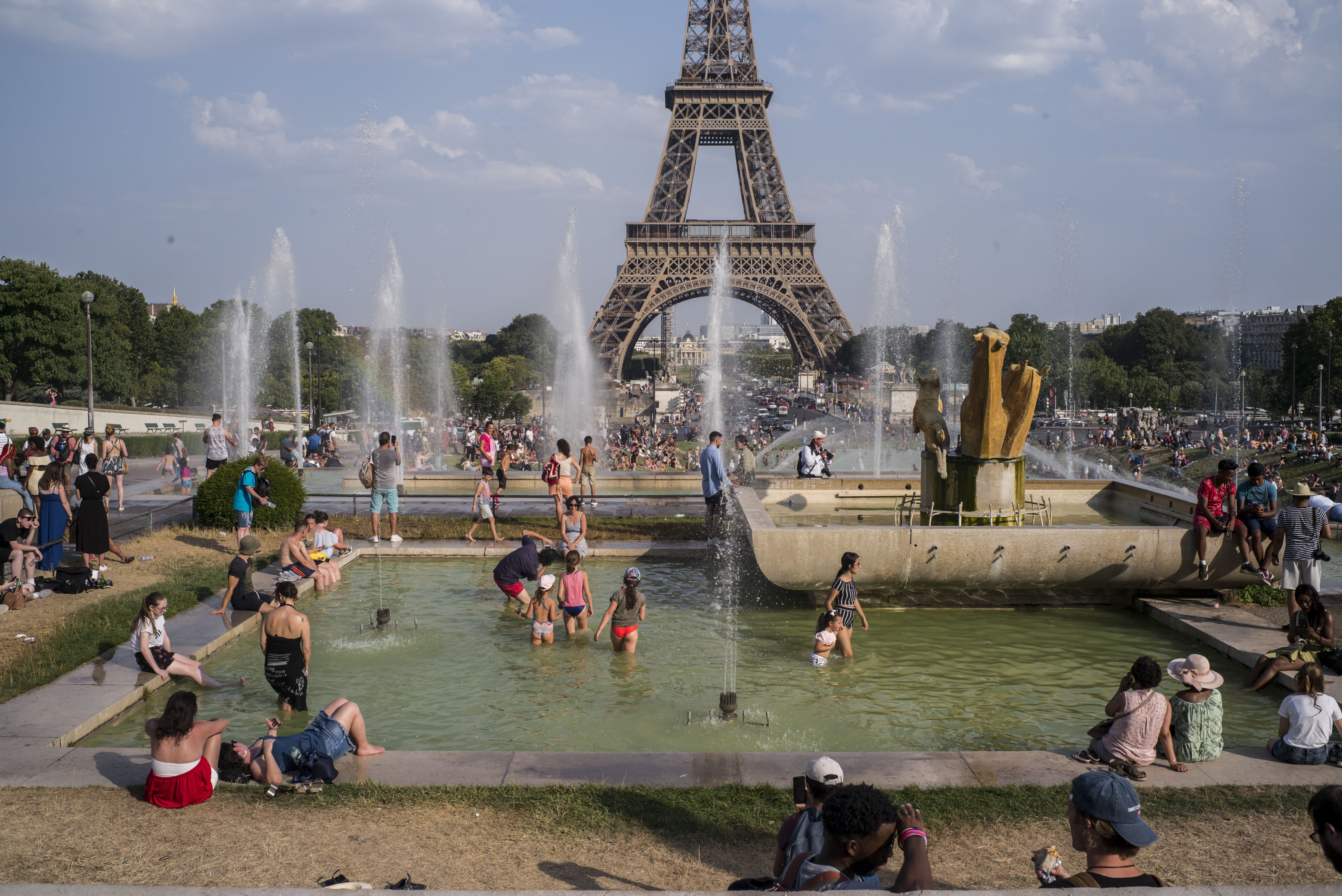 European heat wave fueled by human-induced climate change, study finds