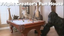Las Vegas Man's Real-Life Haunted House: Dinosaurs, Snakes And Knife-Wielding Bears, Oh My!