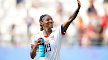 Crystal Dunn has a word for critics who say athletes should 'stick to sports'