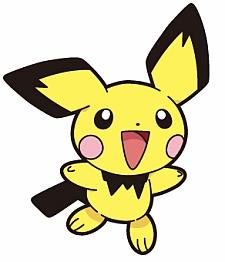 Hey Griffin, Pikachu-colored Pichu downloadable at GameStop