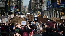 Nouvelles manifestations aux Etats-Unis, le ton martial de Trump contesté