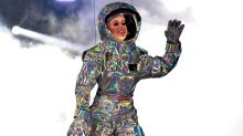 Katy Perry Gets Stuck in the Air While Suspended on Planet Prop During Concert