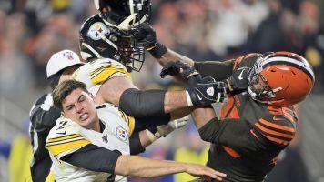 Myles Garrett suspended indefinitely by NFL after helmet attack on Mason Rudolph