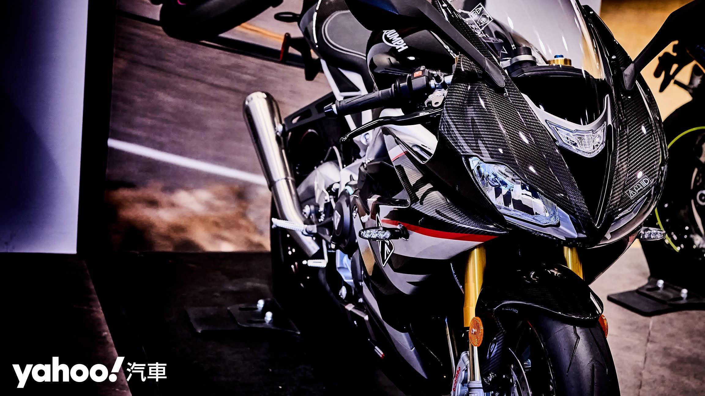 唯一官方認可道路化廠車!Triumph Daytona Moto2 765 Limited Edition實車鑑賞!