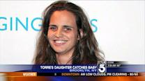 Joe Torre`s Daughter Catches Falling Baby