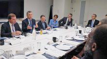 """Con un mensaje """"de optimismo"""", Macri arrancó sus encuentros con inversores"""