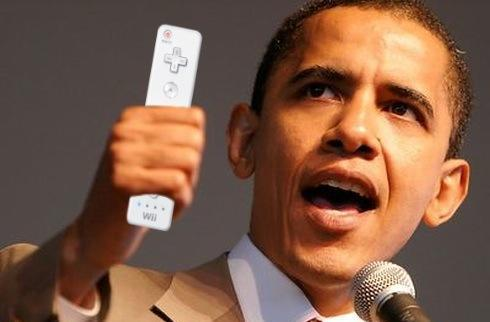 The First Wii: Obama brings video games to the White House