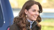 The £5 alternative to the Duchess of Cambridge's gold leaf earrings