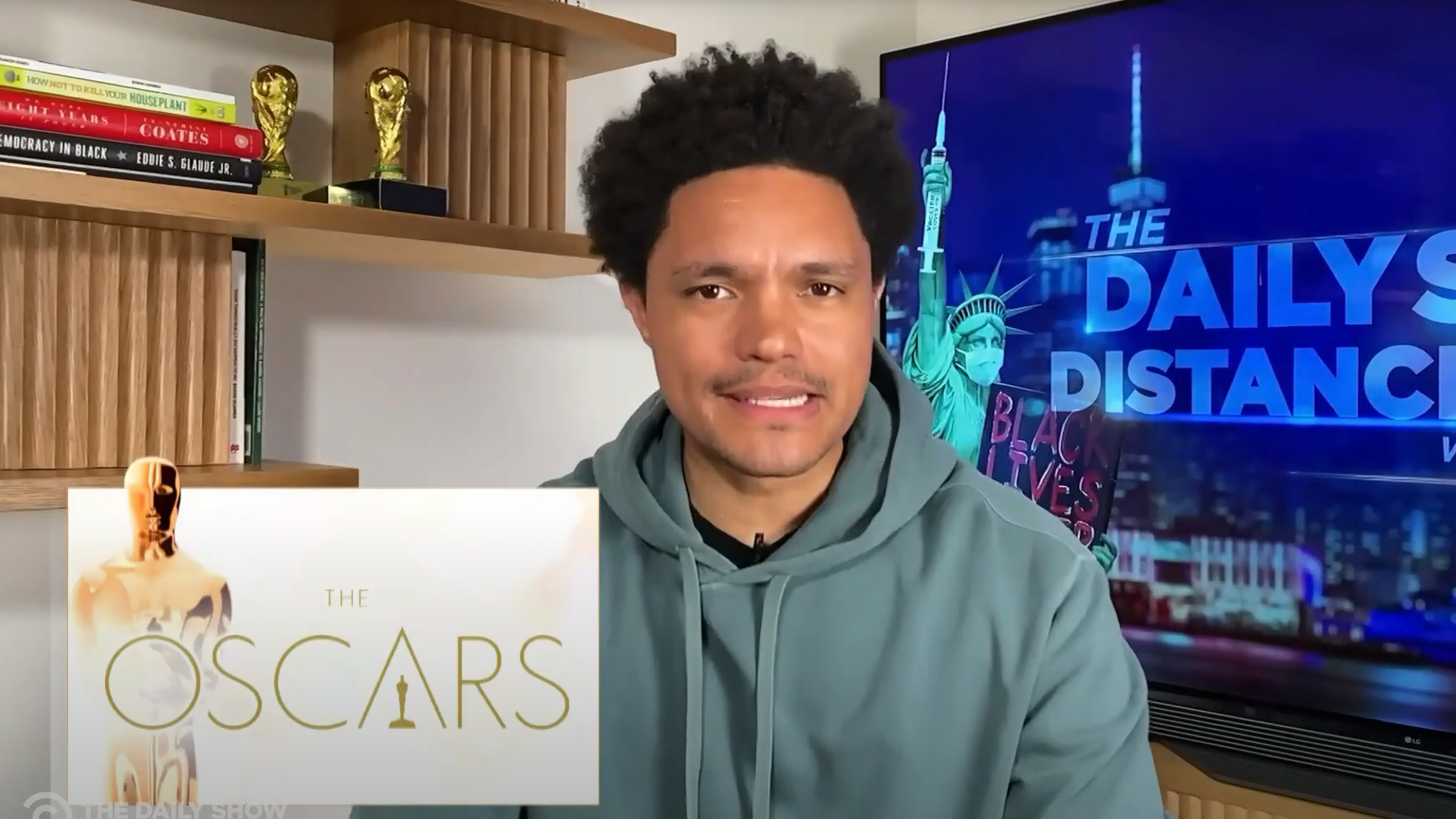 """The Future Of Award Shows"" Or An Elaborate Funeral? Late-Night Hosts Give Their Thoughts On 2021 Oscars"