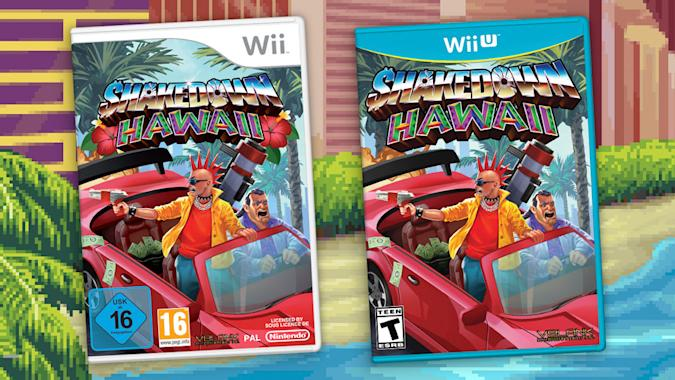 The Shakedown Hawaii Wii and Wii U games.