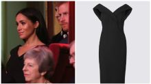Pregnant Meghan Markle wears a bargain $85 dress